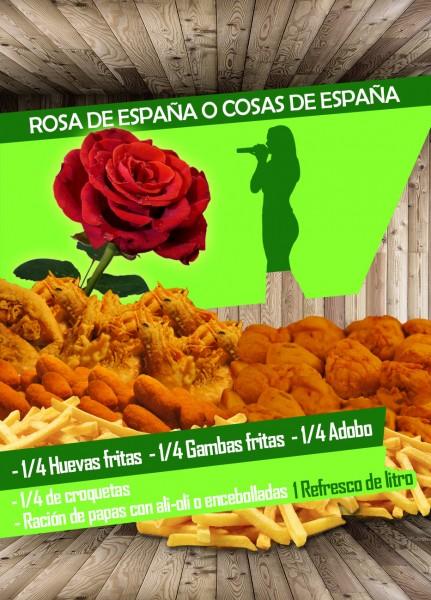 Rosa de España ó cosas de España